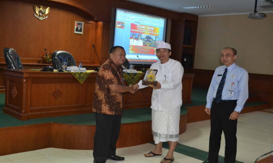 Penerimaan Kunjungan Diklat PIM IV Kabupaten Grobogan Tahun 2017