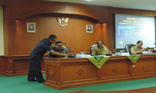 Penerimaan Kunjungan Diklat PIM IV Kabupaten Minahasa Tenggara, Selasa 13 Juni 2017
