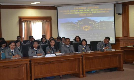 Penerimaan Kunjungan Diklat PIM IV Angkatan CVI Pemerintah Kota Semarang Tahun 2017