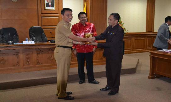 Penerimaan Kunjungan Diklat PIM IV Angkatan 293 Kabupaten Toraja, Selasa 29 Agustus 2017